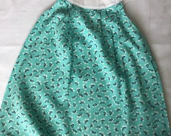 Girls rayon floral dress size 3-6 m