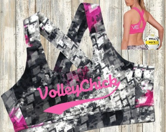 Volleyball Malibu Bra Top