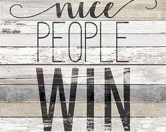 MAZ5204 - Nice People Win
