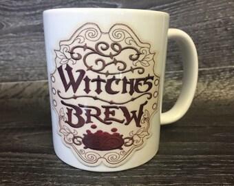 Witches brew mug Halloween