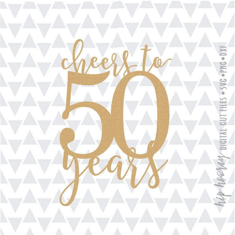 Cheers To 50 Fifty And Fabulous Fiftieth 50th Birthday Cake