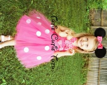 Minnie Mouse Costume Tutu Dress