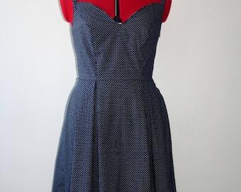 Rockabilly pin up polka dot dress