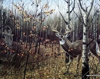 Les Kouba Bow Hunters Dream Deer Bow hunting Print