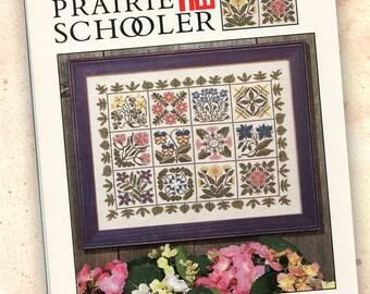 Prairie Schooler Book No. 75 Counted Cross Stitch Pattern, HTF OOP A Prairie Garden II