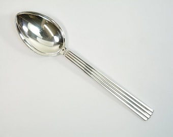 Georg Jensen EPNS Cutlery - BERNADOTTE - Table Spoon / Spoons - 19.8 cm