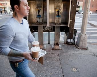 3rd Avenue, Coffee Run, Manhattan, New York, City, NYC, Photo, Photograph, Fine Art, Print,