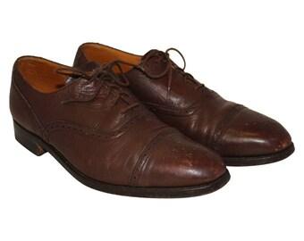 1930's Brown Brogues