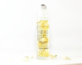 ENERGY perfume   Sensory Perfume with Citrus   100% natural and vegan