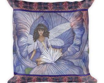 FAIRY DUO THREE Square Pillow