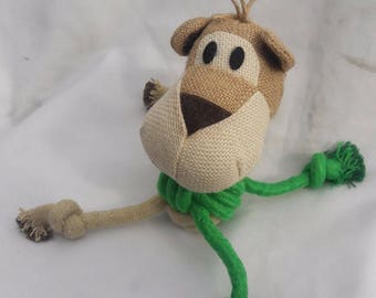 Dog Pawer Natural Hemp Interactive Dog Toy (Eco-friendly)