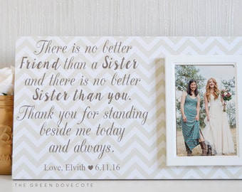 Bridesmaid Gift - Best Friend Wedding - Sister Gifts - Maid Of Honor Gifts - Sister - Best Friend Gift  - Gift To Bride From Sister - Sister