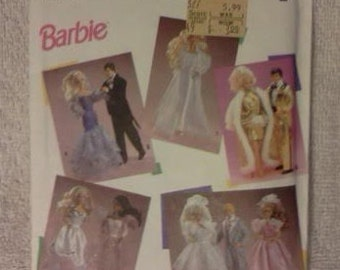 Simplicity Barbie Sewing Pattern 7362