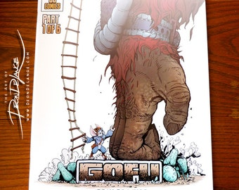 Comic Book | Gofu Part 1 of 6 | Self-published | Sci-fi/Fantasy