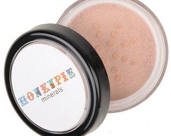 Natural Mineral Foundation - Various Shades - 10g sifter jar (vegan, cruelty-free makeup, loose powder, perfect for acne & sensitive skin)