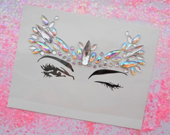 Festival Self-Adhesive Face Jewels BF022