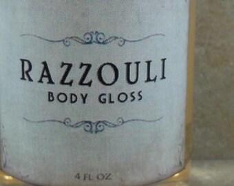 Razzouli - Body Gloss - Raspberry Puree, Ruby Red Grapefruit, Dark Patchouli