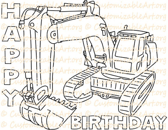 Construction Party Favors Printable Birthday