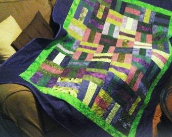 Lap/throw quilt