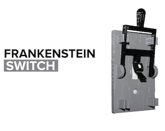 Frankenstein Light Switch Cover (Toggle)