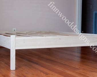 FULL PLATFORM BED Cottage style (unfinished) no  headboard- New Low price