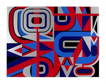 Limited Edition Print - Original silkscreen, screenprint by Jean DEWASNE