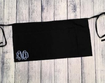Personalized Monogram 3 Pocket Waist Apron