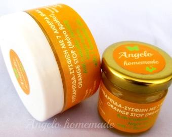 Cellulite Treatment, Firming Body, Anti Cellulite Balm, Fight Cellulite Salve, Orange Peel Skin Cream, Handmade Beeswax Salve for Cellulite.