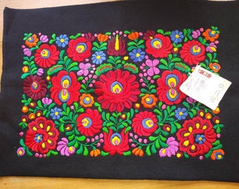Beautiful and unique hungarian Matyo embroidered pillow for you!