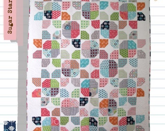 """Sugar Stars Pattern 64"""" x 84"""" (twin)"""
