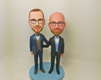 Gay Wedding Cake Topper Personalized Gay Wedding Cake Topper Gay Male Cake Topper Gay Male Wedding Gift Gay Wedding Cake Topper Gay Topper