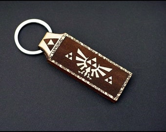 Legend of Zelda Its dangerous to go alone  Leather keychain ,Fathers Day Gift from Daughter, Dad Gifts, Gift from Wife, , Mens Keychain,