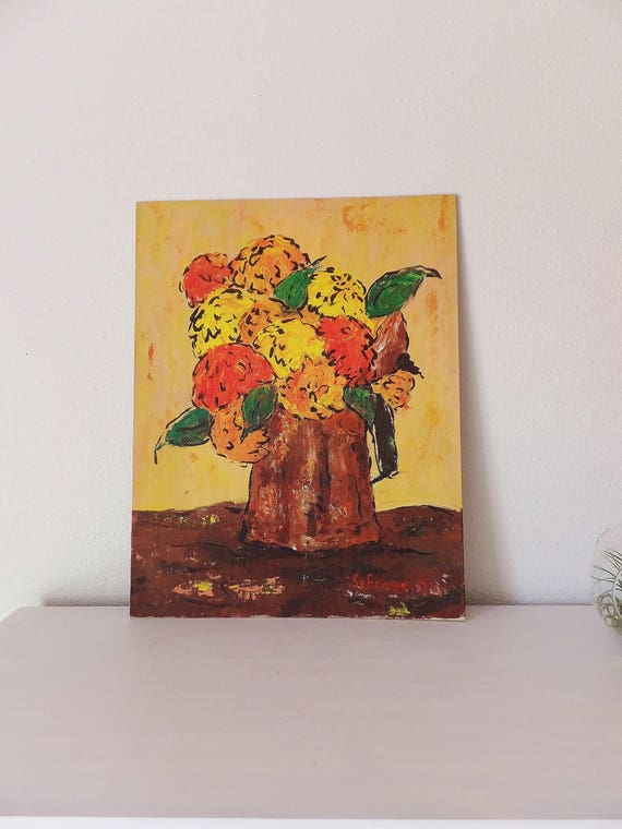 Luxury il 570xN hitd In 2019 - Style Of orange flower painting