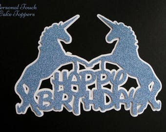 Individually personalised cake toppers with an image of your choice.