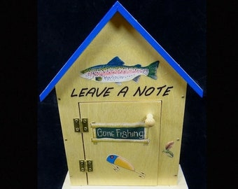 ON SALE Fish Lv A Note Manual Answering Machine Fishing