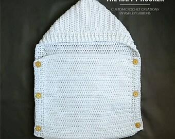 Grow With Me crochet baby sleep sack
