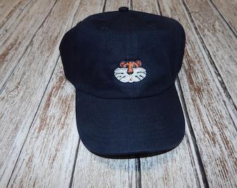 Toddler boy cap; Boy hat; Tiger hat; AU cap; AU boy hat; Boy cap; toddler boy hat; Auburn cap for boy