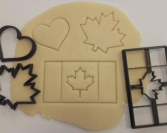 Canada Day Cookie Cutter Set