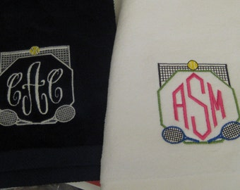 Personalized Tennis or Golf Towel