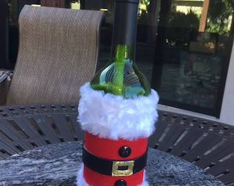 Tiki Torch Wine Bottle - just fill and light for ambiance!