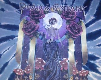 Dead and Company Fall Tour 2017 Bertha Dark Blue Tye Dye