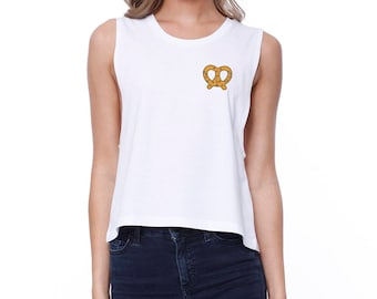 Pretzel Crop Top Shirt  (JCR047)