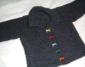 Infant Cardigan Crochet Pattern