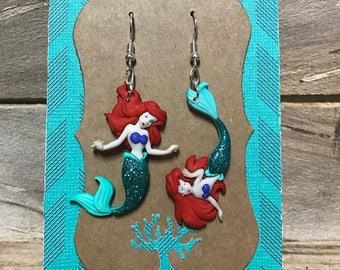 Little Mermaid Earrings