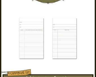 Library Cards Templates