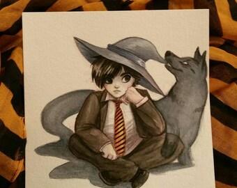 Mavros, Shadow Witch Wicked Witch Witchtober 10