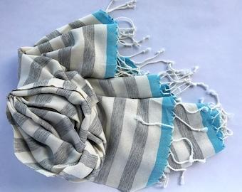 TURKISH TOWEL-Peshtemal, Pestemal, Beach Towel, Turkish Bath Towel,  Turkish Beach Towel, Bath Towel, Peshtemal Towel, Cotton Towel, Fouta..