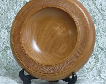 ROBINIA ROLLED EDGE platter/dish 11x2inches