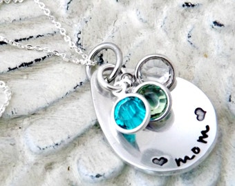 personalized necklace-mom necklace-mothers necklace-birthstone jewelry-grandma necklace-nana necklace-personalized jewelry-gift for nana