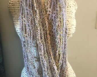Warm and Cozy Pastel Cowl